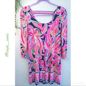 Lilly Pulitzer 3/4 Sleeve Dress